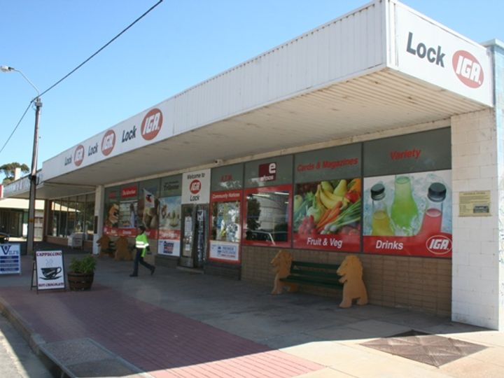 IGA Premises FREEHOLD ONLY, Lock, SA