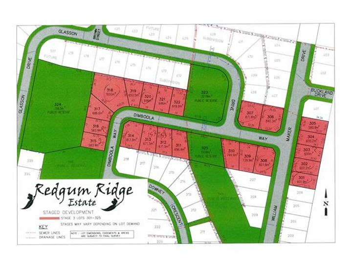Stage 3 RedGum Ridge Estate, Orange, NSW