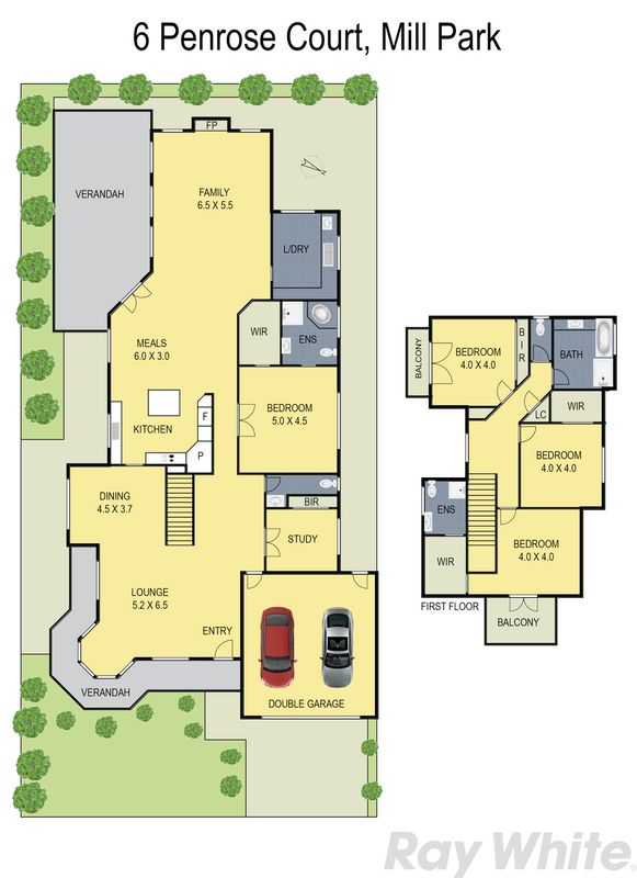 6 penrose court mill park vic residential house sold for 11 brunel crt floor plan