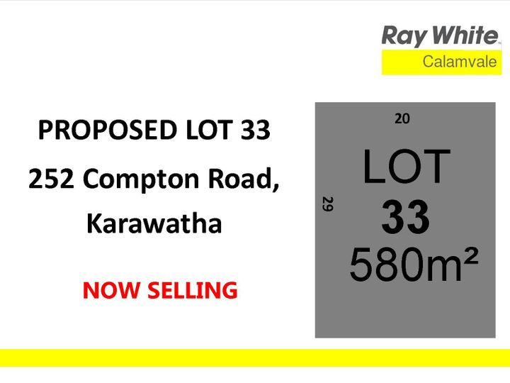 Lot 33, 252 Compton Road, Karawatha, QLD