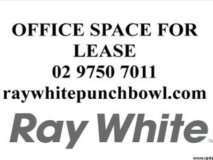ONE ROOM OFFICE WITH BATHROOM FACILITIES! - Punchbowl