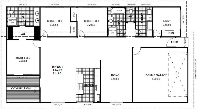 House sold glenvale qld 4 madeleine court for 11 brunel crt floor plan