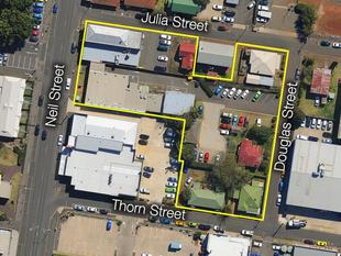 Major Development Site  Substantial Holding Income - Toowoomba City