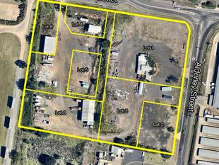 Industrial Land & Sheds For Lease - Harristown