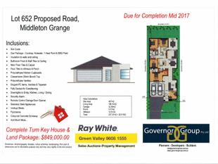 HOUSE AND LAND PACKAGE - Middleton Grange