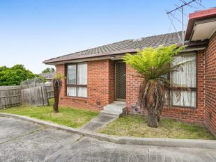 Low maintenance and centrally located 2 bedroom Unit investment opportunity - Dandenong North