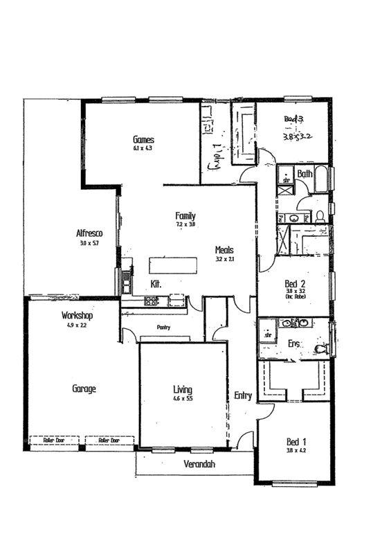 House leased andrews farm sa 11 highgrove court for Highgrove house floor plan