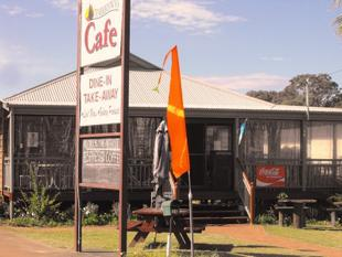 TIMBER TOWNS CAFE ( Building & land Only For Sale) - Yarraman