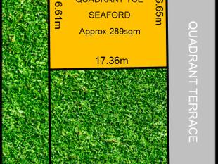 YOUR SEASIDE LAND OPPORTUNITY!   Torrens Title -16.65metre ( approx) Frontage- Further Price Reduced! - Seaford