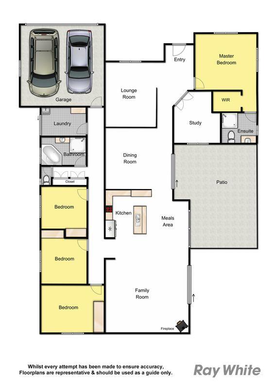 6 homebush court joyner qld residential house sold for 11 brunel crt floor plan