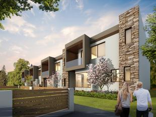 """The Bellevue"" - new designer townhouse with study - Lane Cove"