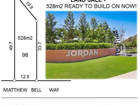 Jordan Springs, 98 Matthew Bell Way