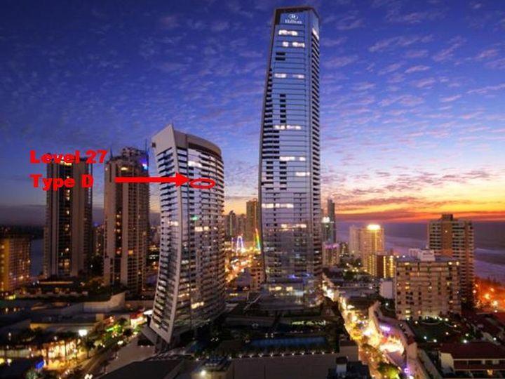 12704 'Hilton' 3113 Surfers Paradise Boulevard, Surfers Paradise, QLD
