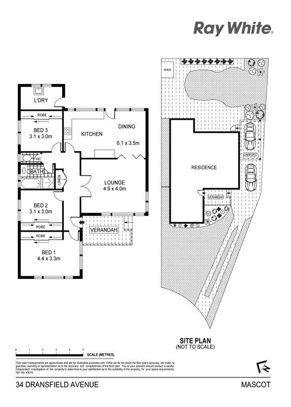House sold mascot nsw 34 dransfield avenue for Mascot homes floor plans