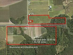 56 AC, SHED, PACKING WHEEL AND FARM SUPPLIES $250K NEG - South Innisfail