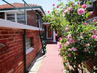 Available Now - Rear Property - North Perth
