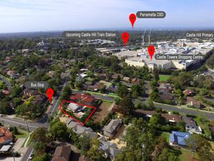 Rare opportunity  450 metres to Castle Towers & upcoming train station! - Castle Hill