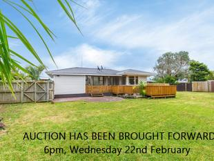 AUCTION BROUGHT FORWARD! Wed 22nd Feb at 6pm! - Papatoetoe