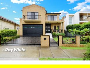Bright & Spacious Modern Family Home - Hurstville