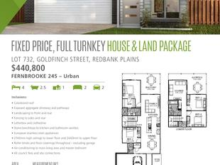 Fixed Price, Full Turnkey House and Land Package - Redbank Plains