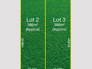 Your choice of 2 new allotments measuring a healthy 402m² each. - Seaton