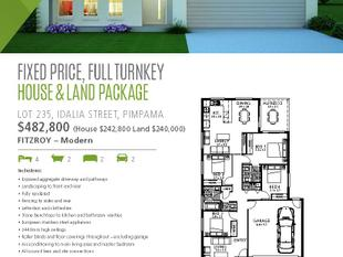 Fixed Price, Full Turnkey - House and Land Package - Pimpama