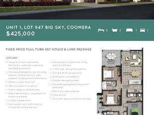 Fixed Price, Full Turn Key House & Land Package - Coomera