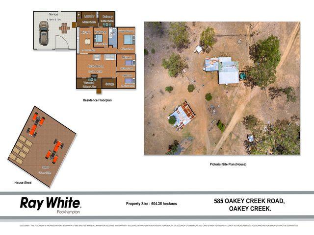 585 Oakey Creek Road, Oakey Creek, QLD