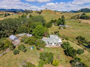 GREAT HOME, GOOD SHEDS, GRAZING - Coroglen