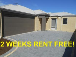 BRAND NEW QUALITY, ALARMED UNIT- 2 WEEKS FREE RENT TO THE SUCCESSFUL APPLICANT! - Gosnells