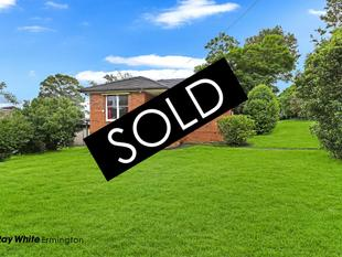 SOLD at AUCTION BY RAY WHITE ERMINGTON - 9898 1822 - Ermington