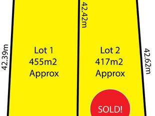 * BOTH LOTS SOLD BY ANTHONY FAHEY AND JAE CURTIS * - Lockleys
