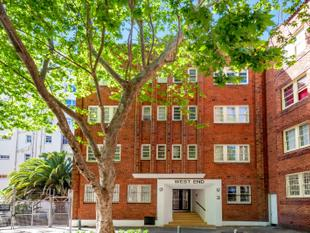 A CLASSIC ART DECO STUDIO UNIT AT THE END OF A TRANQUIL TREE-LINED CUL-DE-SAC! - Potts Point