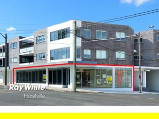 Brand New 230m2 Showroom/Offices on Main Road - Hurstville