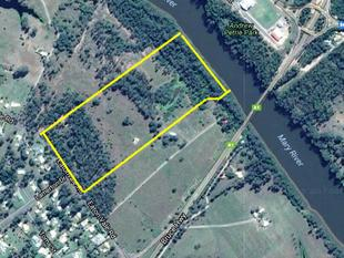47 ACRES ON THE MARY RIVER WITH DA APPROVAL FOR NATURE BASED TOURISM PARK - Tinana