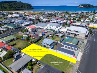 TWO SECTIONS, PRIME LOCATION - Whangamata
