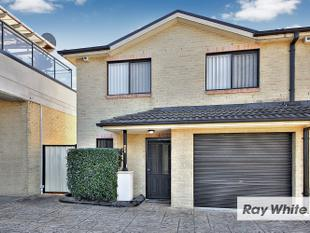 SPACIOUS TOWNHOUSE IN PERFECT LOCATION - Lidcombe