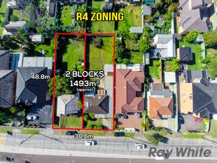 R4 Zoning (High Rise) Potential 27 units S.T.C.A - Canley Heights