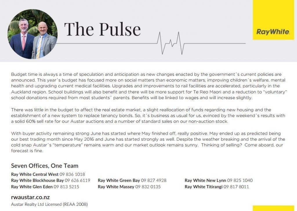 The Pulse – 6 June - News - Ray White Austar