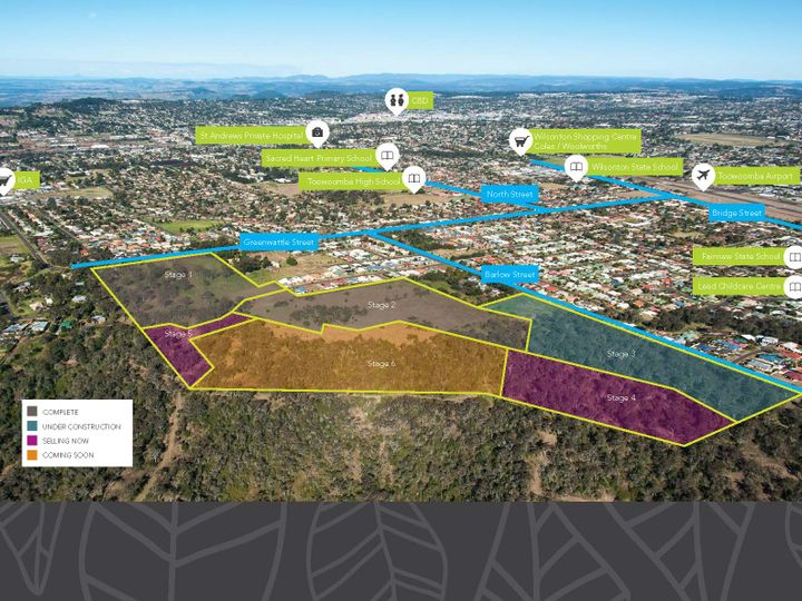 Stages 4, 5 and 6 'The Sanctuary Estate', Toowoomba, QLD