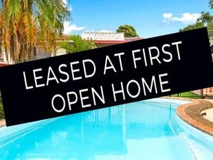 LEASED AT FIRST OPEN HOME! - Greystanes