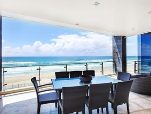 Entire floor absolute beachfront apartment - 3 bedroom plus study - Surfers Paradise