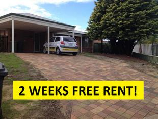 *2 WEEKS FREE RENT TO THE SUCCESSFUL APPLICANT!* - Maddington