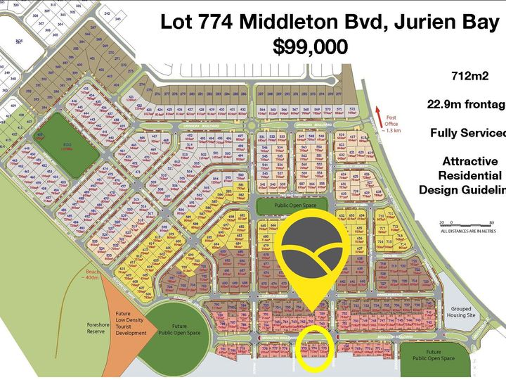 Lot 774, 16 Middleton Boulevard, Jurien Bay, WA