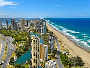 Awesome Studio Unit on the 24th Floor of Rhapsody - Surfers Paradise