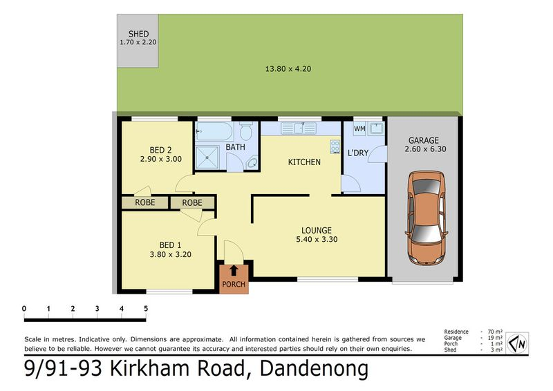 9 91 93 kirkham road dandenong vic residential unit for 9 kitchen road dandenong