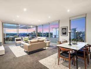 Stylish penthouse retreat with sweeping city views - Camperdown