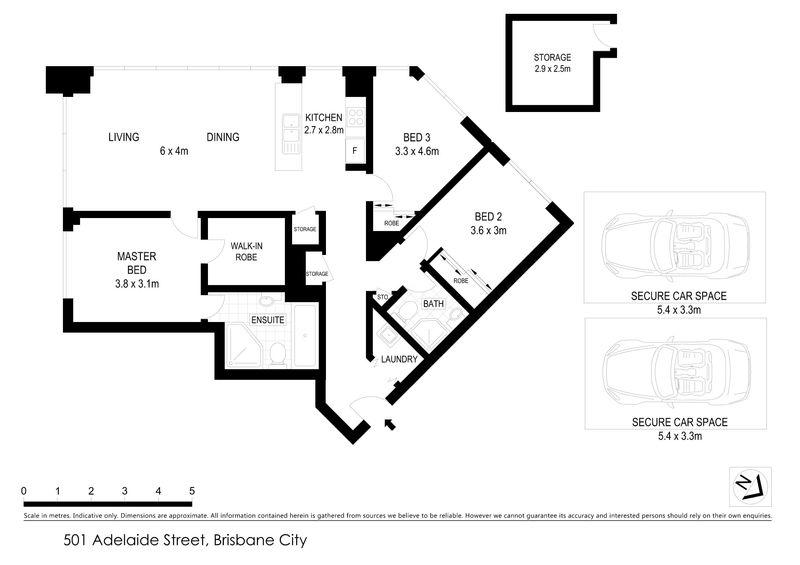 4902 501 Adelaide Street Brisbane Qld Residential