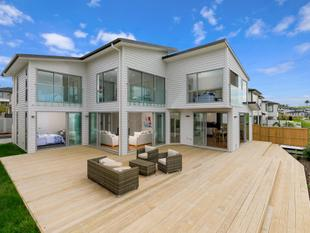 Brand New with Wide Water Views - Hobsonville