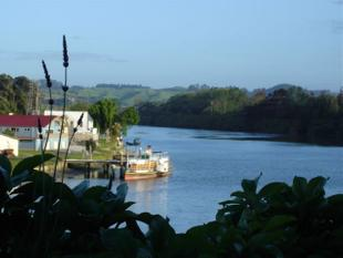 Beautiful Views Of Whanganui River - Durie Hill